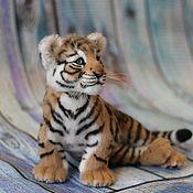 Куклы и игрушки handmade. Livemaster - original item Tiger