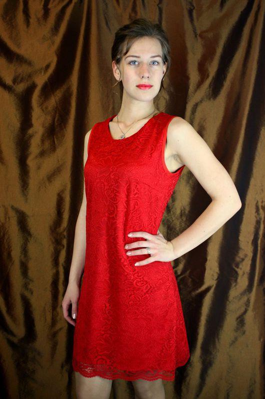 Платья ручной работы. Ярмарка Мастеров - ручная работа. Купить Платье гипюр. Handmade. Черный, атлас, выпускной, вечернее платье