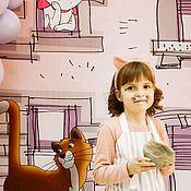 Фартуки ручной работы. Ярмарка Мастеров - ручная работа Фартуки: Детский фартук для девочки. Handmade.