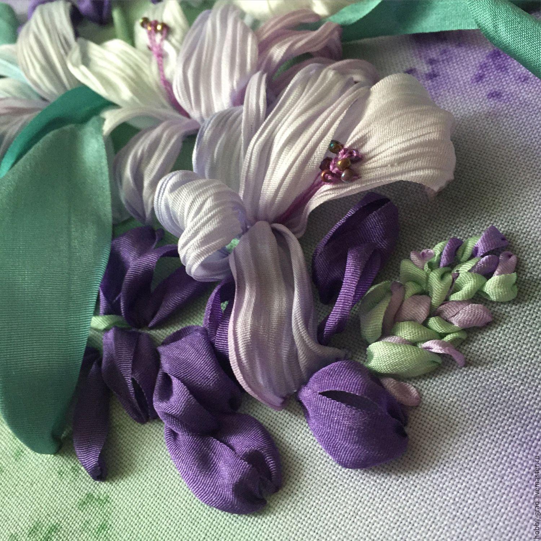 Набор для вышивки лентами москва