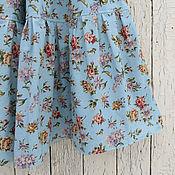 Одежда ручной работы. Ярмарка Мастеров - ручная работа Юбка с цветами (в наличии 46-52). Handmade.