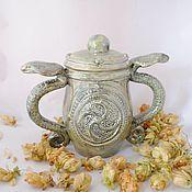 Посуда handmade. Livemaster - original item Sugar Bowl