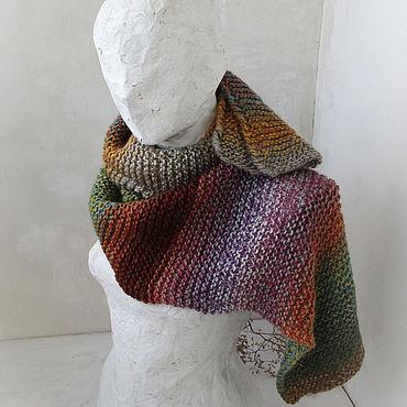 Аксессуары ручной работы. Ярмарка Мастеров - ручная работа Шарфы: Большой яркий шарф. Handmade.