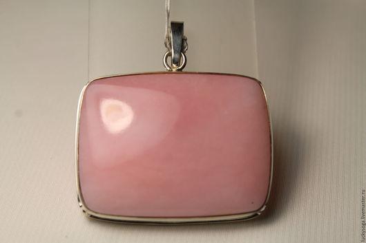 """Кулоны, подвески ручной работы. Ярмарка Мастеров - ручная работа. Купить Кулон с розовым опалом """" Стиль"""". Handmade. Розовый"""
