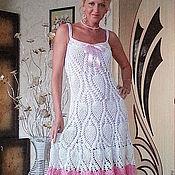 """Одежда ручной работы. Ярмарка Мастеров - ручная работа Платье-сарафан """"Прелесть"""". Handmade."""
