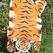 Для дома и интерьера ручной работы. Ярмарка Мастеров - ручная работа Тигриная шкура. Handmade.