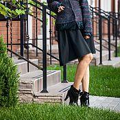 Одежда handmade. Livemaster - original item V_009 a-line Skirt with pockets. Handmade.