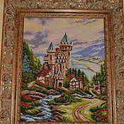 Картины и панно ручной работы. Ярмарка Мастеров - ручная работа вышитая картина. Handmade.