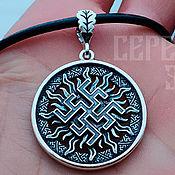 Украшения handmade. Livemaster - original item Amulet Fern Flower (Perun Color). Silver 925 art.1012001. Handmade.