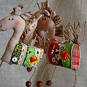 Куклы и игрушки ручной работы. Ярмарка Мастеров - ручная работа Лошадки. Handmade.