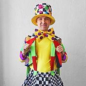 Одежда handmade. Livemaster - original item Cheerful Clown. Animator-actor  suit. Handmade.