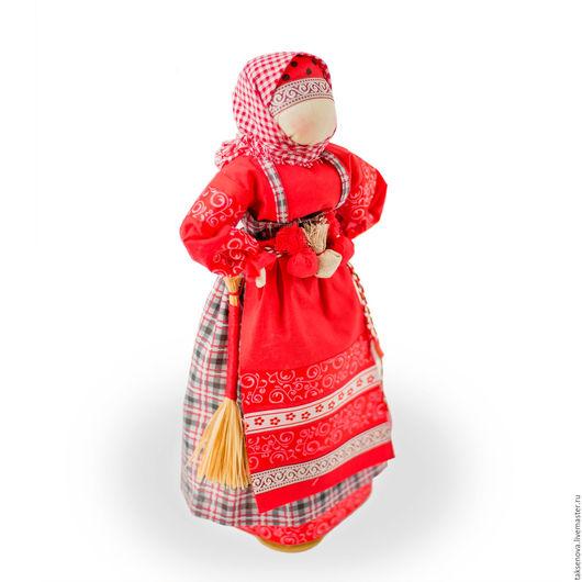 Народные куклы ручной работы. Ярмарка Мастеров - ручная работа. Купить Текстильная славянская кукла оберег Коляда. Handmade. лён