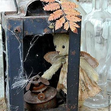 Куклы и игрушки ручной работы. Ярмарка Мастеров - ручная работа Мишка Ангел осенних листьев. Handmade.