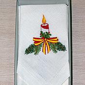 Сувениры и подарки handmade. Livemaster - original item Linen napkins