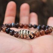 Украшения handmade. Livemaster - original item Tiger eye bracelet-SHAKE. Handmade.