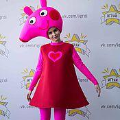 Одежда handmade. Livemaster - original item Peppa Pig costume. Handmade.