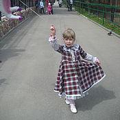 Платье ручной работы. Ярмарка Мастеров - ручная работа ПЛАТЬЕ для девочки Подружка. Handmade.
