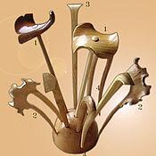 Украшения ручной работы. Ярмарка Мастеров - ручная работа Набор шпилек. Handmade.