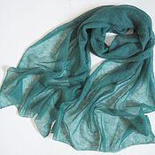 Аксессуары handmade. Livemaster - original item Stole scarf knitted from kid mohair scarf stole. Handmade.