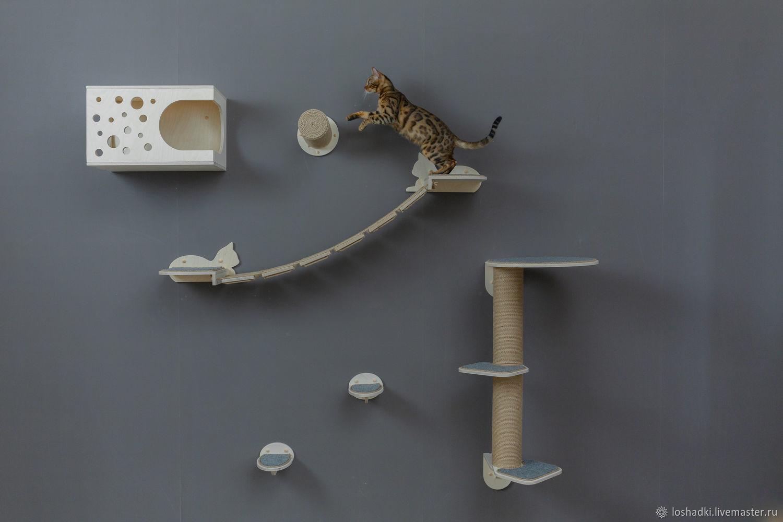 Wall complex for cats 'Samara', Accessories for Pets, Pleasant,  Фото №1