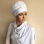 Шапки ручной работы. Ярмарка Мастеров - ручная работа Элегантный тюрбан, чалма, хиджаб. Handmade.