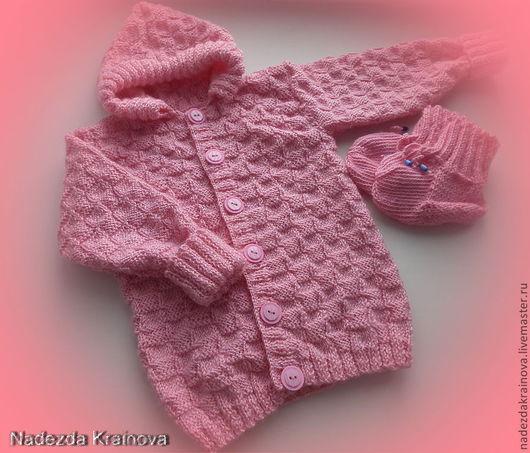 Одежда ручной работы. Ярмарка Мастеров - ручная работа. Купить Детский костюм. Handmade. Розовый, детский костюм, красивый подарок