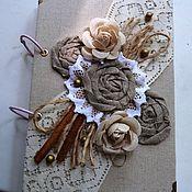 Подарки к праздникам ручной работы. Ярмарка Мастеров - ручная работа Эко-блокнот. Handmade.