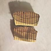 """Косметика ручной работы. Ярмарка Мастеров - ручная работа """"Ретро"""", шелковое мыло для мужчин с ароматом Chrome Azzaro. Handmade."""