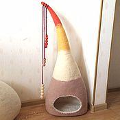 Для домашних животных, ручной работы. Ярмарка Мастеров - ручная работа Кошкин дом Конус. Handmade.
