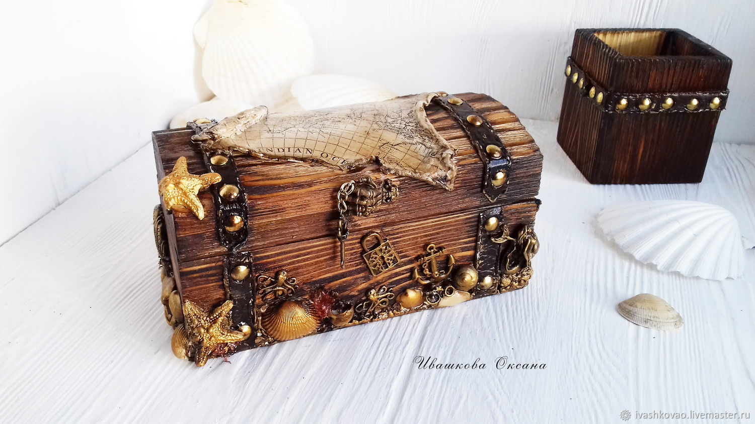 Pirate's chest, Gifts for hunters and fishers, Vladivostok,  Фото №1