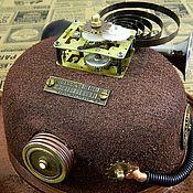 "Субкультуры handmade. Livemaster - original item Cylinder (Kettle) Hat Steampunk  ""DR. WATSON"". Handmade."