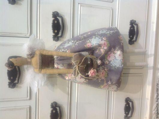 Куклы Тильды ручной работы. Ярмарка Мастеров - ручная работа. Купить Винтажный ангел тильда. Handmade. Тильда, кукла Тильда