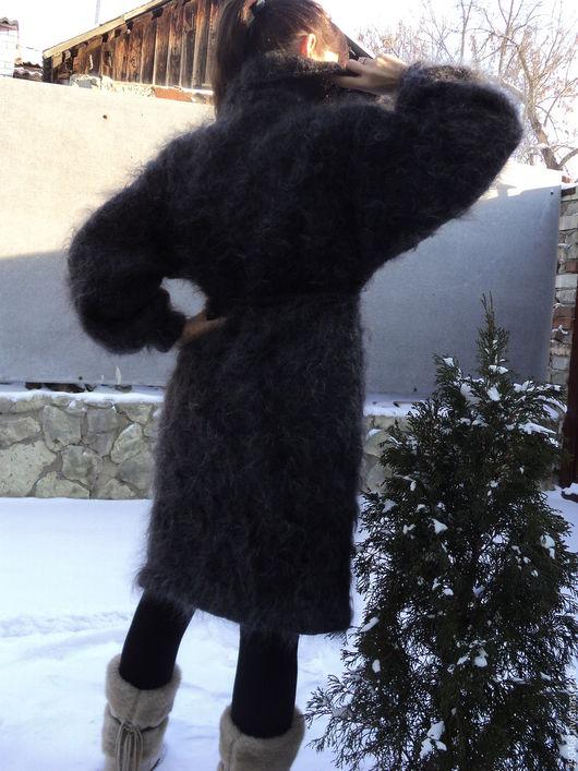 Верхняя одежда ручной работы. Ярмарка Мастеров - ручная работа. Купить Пальто-кардиган Пуховая фантазия. Handmade. Пальто-кардиган