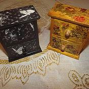 Для дома и интерьера ручной работы. Ярмарка Мастеров - ручная работа шкатулка комодик. Handmade.