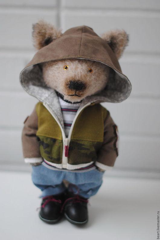 Мишки Тедди ручной работы. Ярмарка Мастеров - ручная работа. Купить Волк Риччи-Рон. Handmade. Комбинированный, авторский мишка