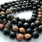 Материалы для творчества handmade. Livemaster - original item Agate faceted beads balls 12mm. Handmade.
