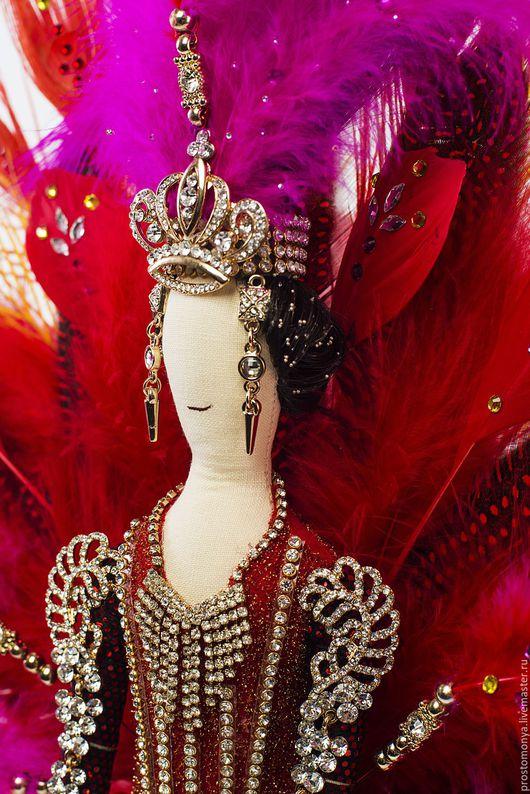 Коллекционные куклы ручной работы. Ярмарка Мастеров - ручная работа. Купить Carnaval do Brasil. Handmade. Ярко-красный