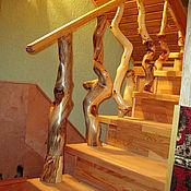 Для дома и интерьера ручной работы. Ярмарка Мастеров - ручная работа Ограждение лестницы. Handmade.