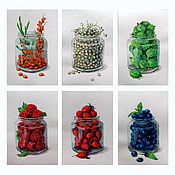 Картины и панно ручной работы. Ярмарка Мастеров - ручная работа Серия миниатюр. Handmade.