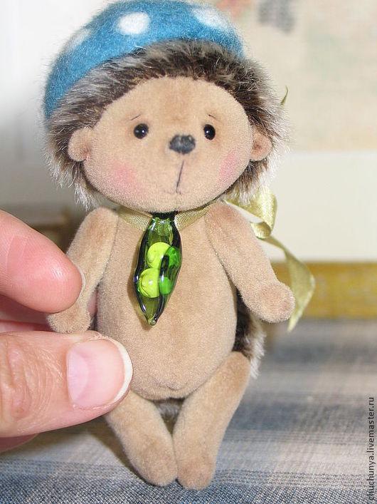 Мишки Тедди ручной работы. Ярмарка Мастеров - ручная работа. Купить Ёжик Симка (из серии ГоРоШки). Handmade. Тедди