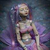 Шарнирная кукла ручной работы. Ярмарка Мастеров - ручная работа Куклы: Шарнирная кукла Приносящая Дождь. Handmade.