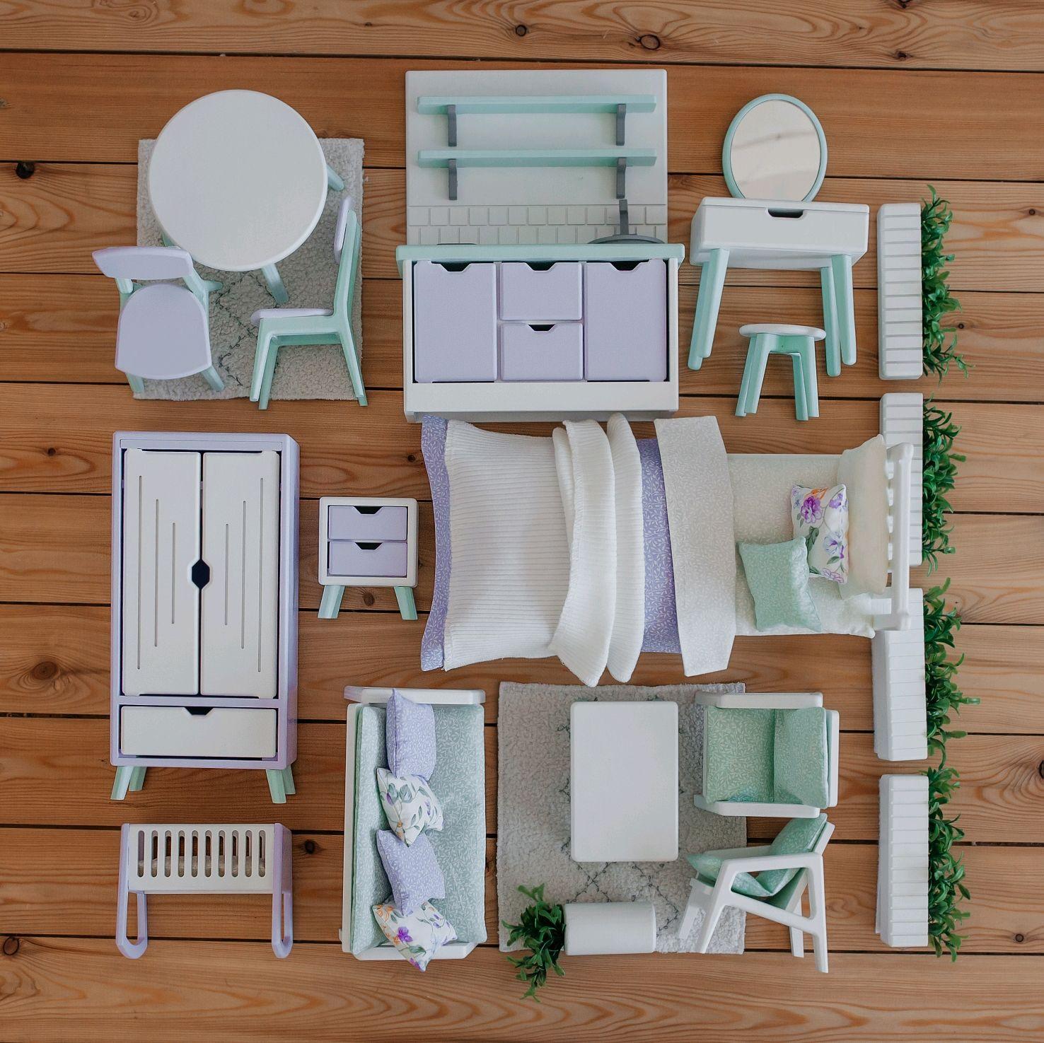 Мебель для кукол, Мебель для кукол, Новосибирск,  Фото №1