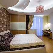 Для дома и интерьера ручной работы. Ярмарка Мастеров - ручная работа Дизайн  штор и покрывала в спальню. Handmade.