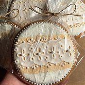 Сувениры и подарки ручной работы. Ярмарка Мастеров - ручная работа Имбирный пряник. Свадебный#1. Handmade.