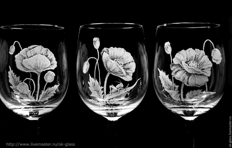 Картинки для гравировки на стекле в стиле фэнтези