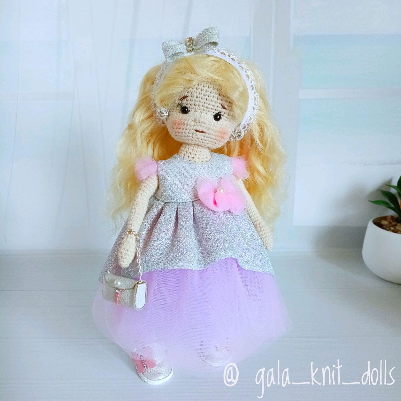 Вязаная кукла, игровая кукла, кукла Щекастик, интерьерная кукла, Амигуруми куклы и игрушки, Самара,  Фото №1