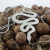 Pendants handmade. Livemaster - original item Snake Pendant. Handmade.