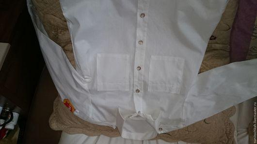 Одежда. Ярмарка Мастеров - ручная работа. Купить Рубашка пионерская. Винтаж. Handmade. Белый, пионерская рубашка, для театра, ностальгия