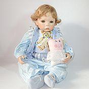 Винтаж handmade. Livemaster - original item Porcelain collectible doll baby. Handmade.