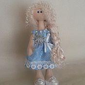 Куклы и игрушки ручной работы. Ярмарка Мастеров - ручная работа кукла снежка - Зимняя фея. Handmade.